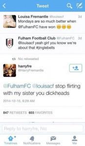 flirtying
