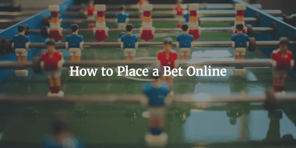 How to Place a Bet Online