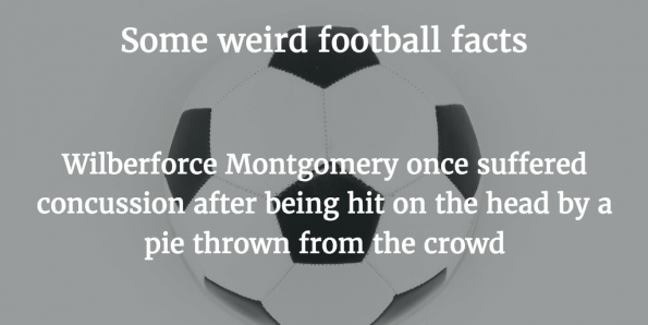 Weird Football Facts