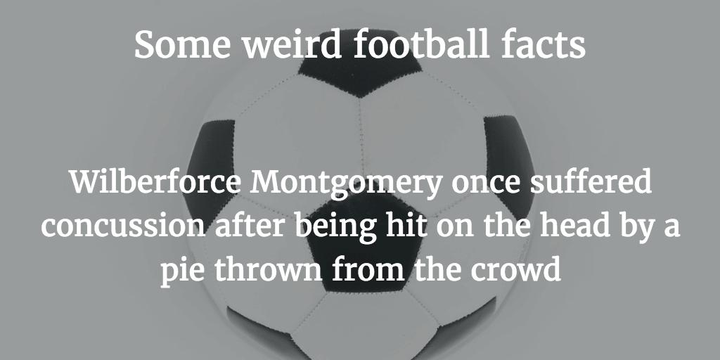 Weird Football Facts