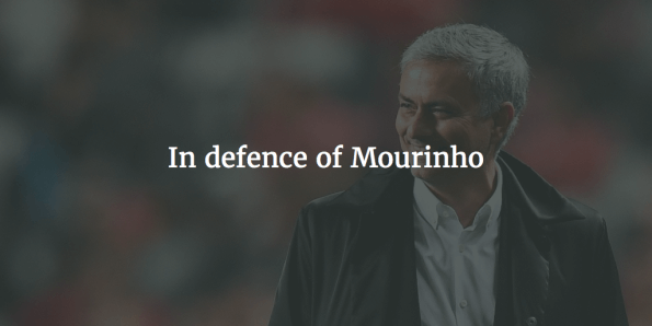 "In defence of Mourinho and ""parking the bus"""