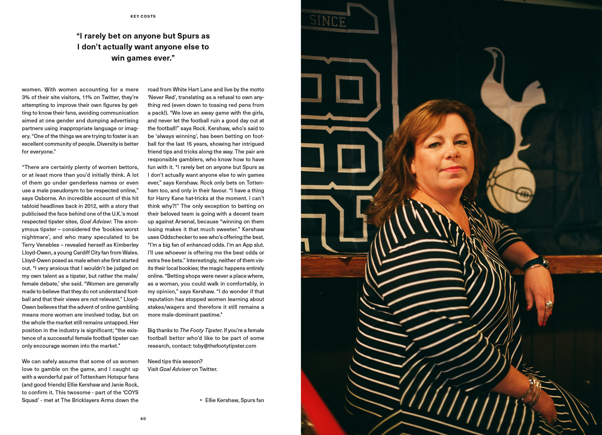 Third page of Women gamble on the game SEASON interview