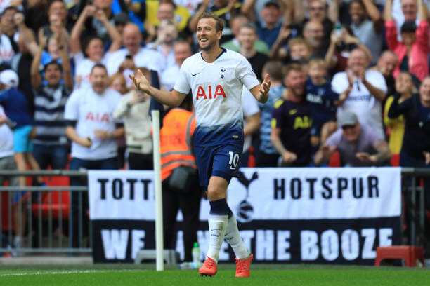 Harry Kane Smiling