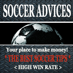Ad. Soccer advices. Your place to make money. The best soccer tips. High win rate.